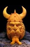 Villafane Pumpkin Carving Viking1