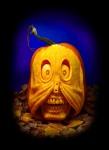 Villafane Pumpkin Carving Zipperskull