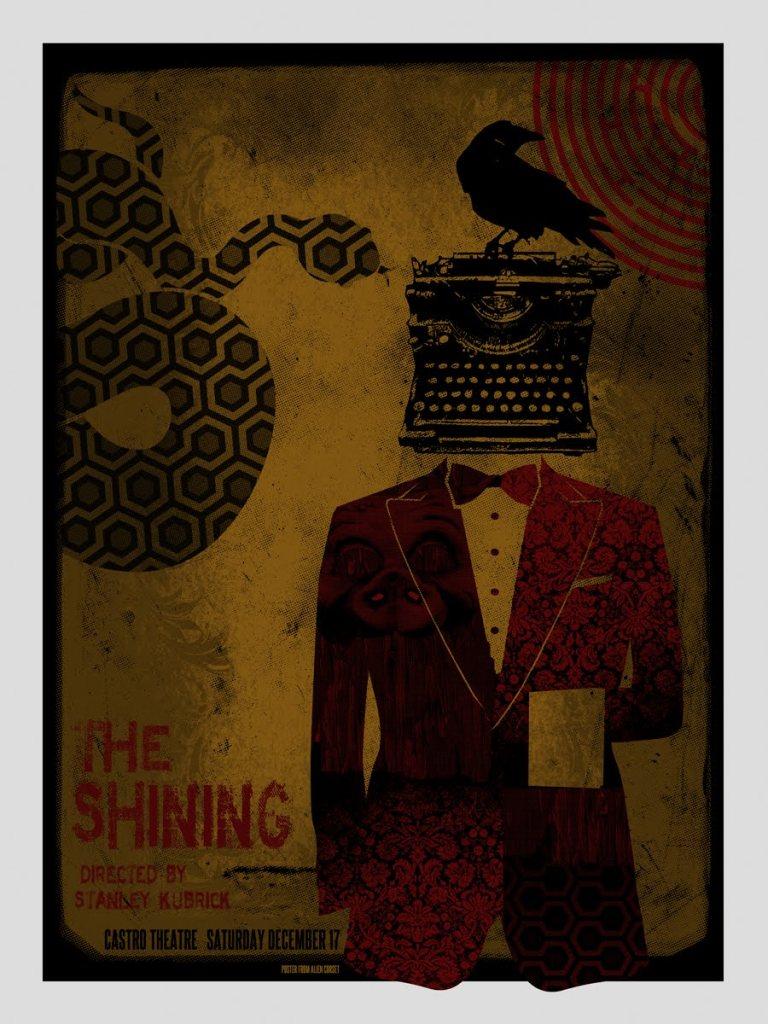 David O'Daniel Movie Film Poster Design Cult The Shining