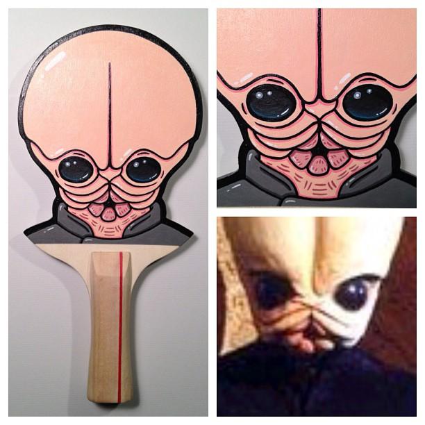 Matt Ritchie Geek Art Design Star Wars Pop Culture Star Wars Paddles 1