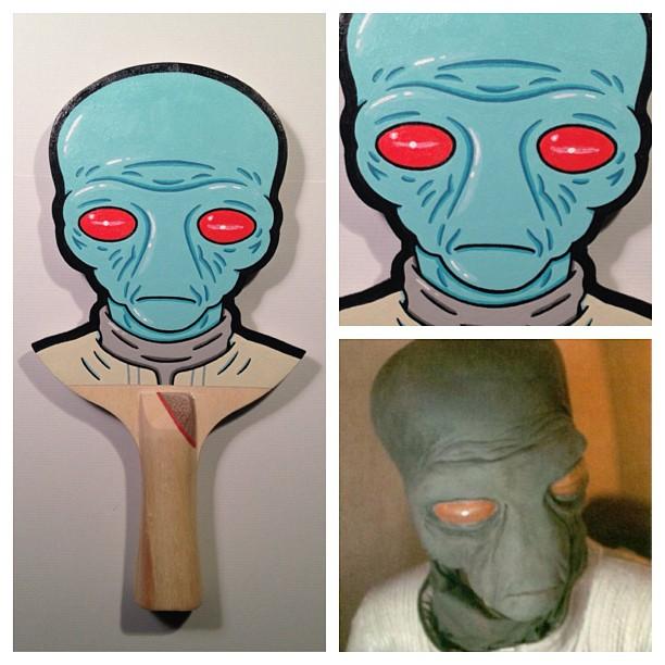 Matt Ritchie Geek Art Design Star Wars Pop Culture Star Wars Paddles 2