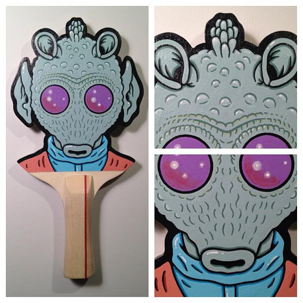 Matt Ritchie Geek Art Design Star Wars Pop Culture Star Wars Paddles 3