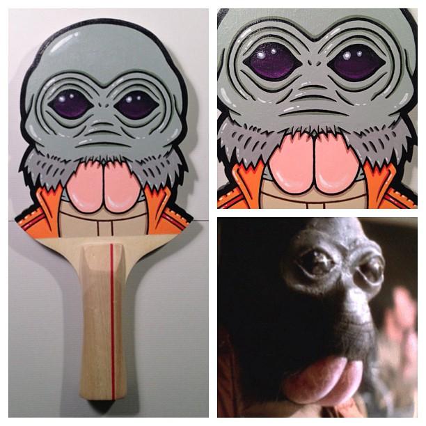 Matt Ritchie Geek Art Design Star Wars Pop Culture Star Wars Paddles 4