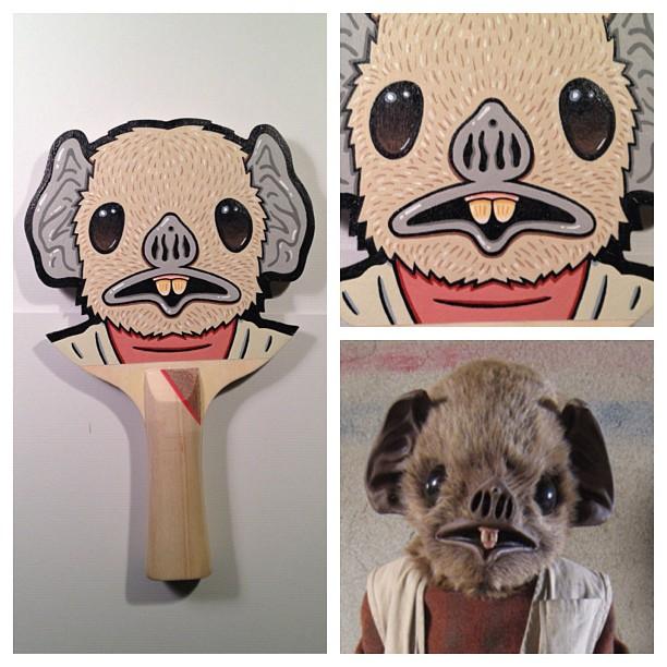 Matt Ritchie Geek Art Design Star Wars Pop Culture Star Wars Paddles 6