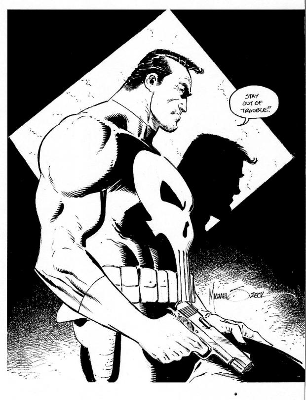 Mike Zeck Marvel Art Comics Punisher Captain America Spider Man Kraven 70s 80s Illustration Covers RTF Skulduggery Return to Fleet 2