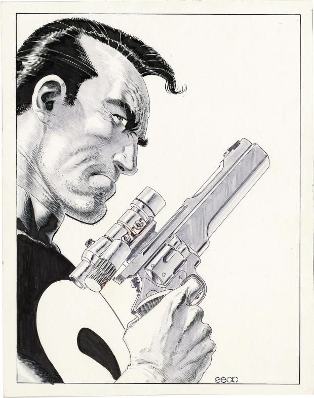 Mike Zeck Marvel Art Comics Punisher Captain America Spider Man Kraven 70s 80s Illustration Covers RTF Skulduggery Return to Fleet 222