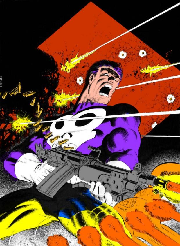 Mike Zeck Marvel Art Comics Punisher Captain America Spider Man Kraven 70s 80s Illustration Covers RTF Skulduggery Return to Fleet 5