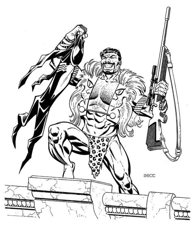 Mike Zeck Marvel Art Comics Punisher Captain America Spider Man Kraven 70s 80s Illustration Covers RTF Skulduggery Return to Fleet 6