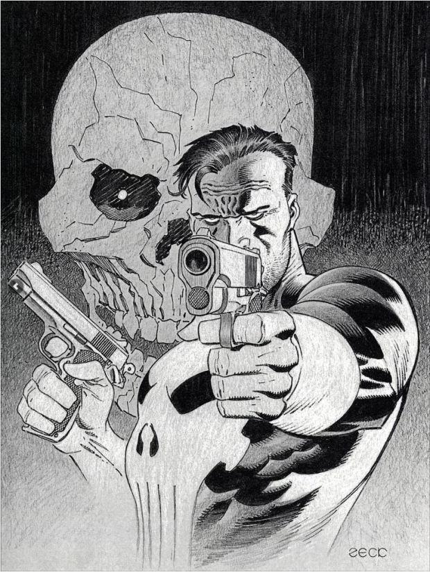 Mike Zeck Marvel Art Comics Punisher Captain America Spider Man Kraven 70s 80s Illustration Covers RTF Skulduggery Return to Fleet 62