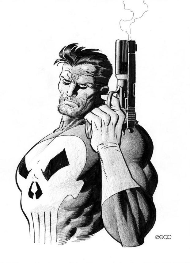 Mike Zeck Marvel Art Comics Punisher Captain America Spider Man Kraven 70s 80s Illustration Covers RTF Skulduggery Return to Fleet 6222
