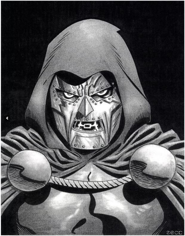 Mike Zeck Marvel Art Comics Punisher Captain America Spider Man Kraven 70s 80s Illustration Covers RTF Skulduggery Return to Fleet Dr Doom