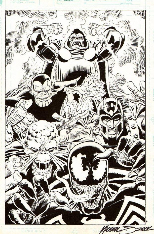 Mike Zeck Marvel Art Comics Punisher Captain America Spider Man Villians 70s 80s Illustration Covers RTF Skulduggery Return to Fleet 1