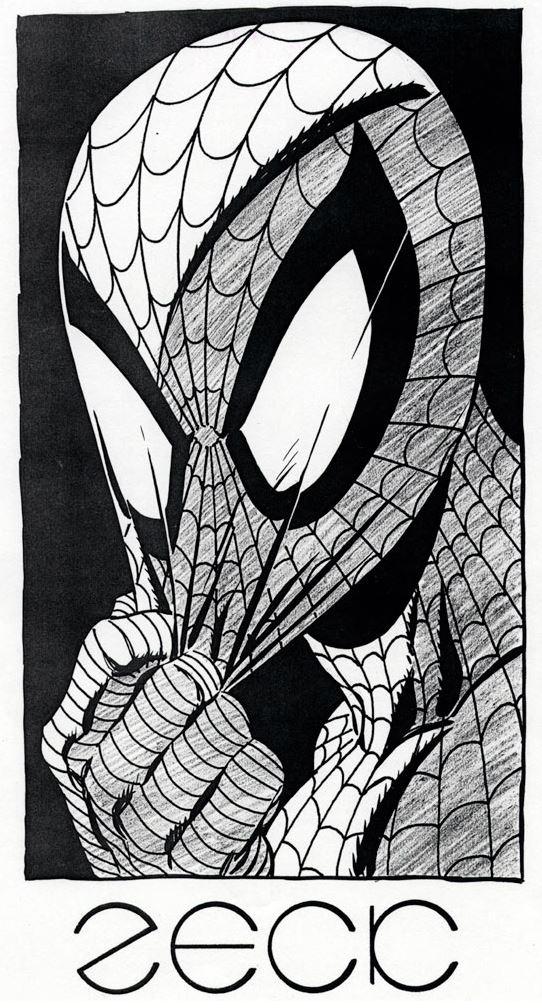 Mike Zeck Marvel Art Comics Punisher Captain America Spider Man Villians 70s 80s Illustration Covers RTF Skulduggery Return to Fleet Cover