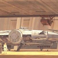 Ralph McQuarrie Star Wars Original Artwork Concept Lucas Films 12