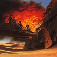 Ralph McQuarrie Star Wars Original Artwork Concept Lucas Films 15
