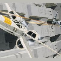 Ralph McQuarrie Star Wars Original Artwork Concept Lucas Films 3