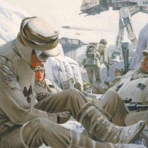 Ralph McQuarrie Star Wars Original Artwork Concept Lucas Films 4