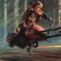 Ralph McQuarrie Star Wars Original Artwork Concept Lucas Films 9