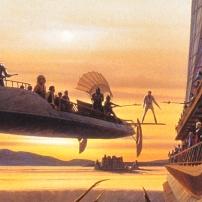 Ralph McQuarrie Star Wars Original Artwork Concept Lucas Films a