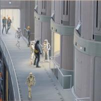 Ralph McQuarrie Star Wars Original Artwork Concept Lucas Films e