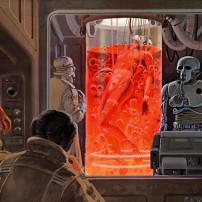 Ralph McQuarrie Star Wars Original Artwork Concept Lucas Films g
