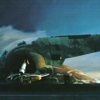 Ralph McQuarrie Star Wars Original Artwork Concept Lucas Films l