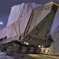 Ralph McQuarrie Star Wars Original Artwork Concept Lucas Films nmnm