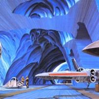 Ralph McQuarrie Star Wars Original Artwork Concept Lucas Films p