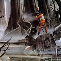 Ralph McQuarrie Star Wars Original Artwork Concept Lucas Films q