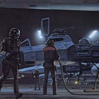 Ralph McQuarrie Star Wars Original Artwork Concept Lucas Films s