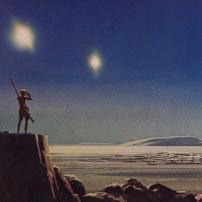 Ralph McQuarrie Star Wars Original Artwork Concept Lucas Films z