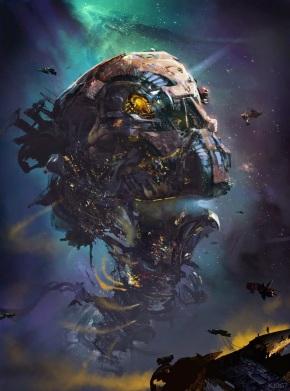 Guardians Galaxy Concept Art Marvel Kev Jenkins