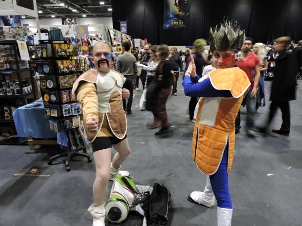 London Comic Con October 2014 Day 1 09 Dragon Ball Z Cosplay