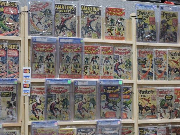 London Comic Con October 2014 Day 1 11 Comics Spiderman Amazing Fantasy No. 1