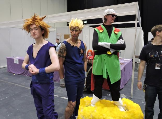 London Comic Con October 2014 Day 1 55 Dragon Ball Z Cosplay