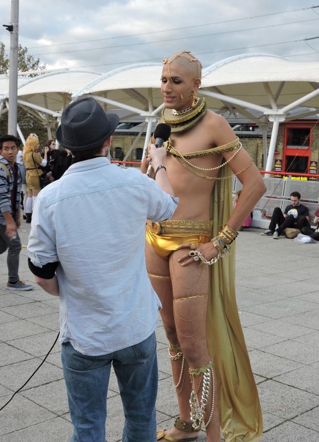 London Comic Con October 2014 Day 2 101 300 Xerxes Cosplay