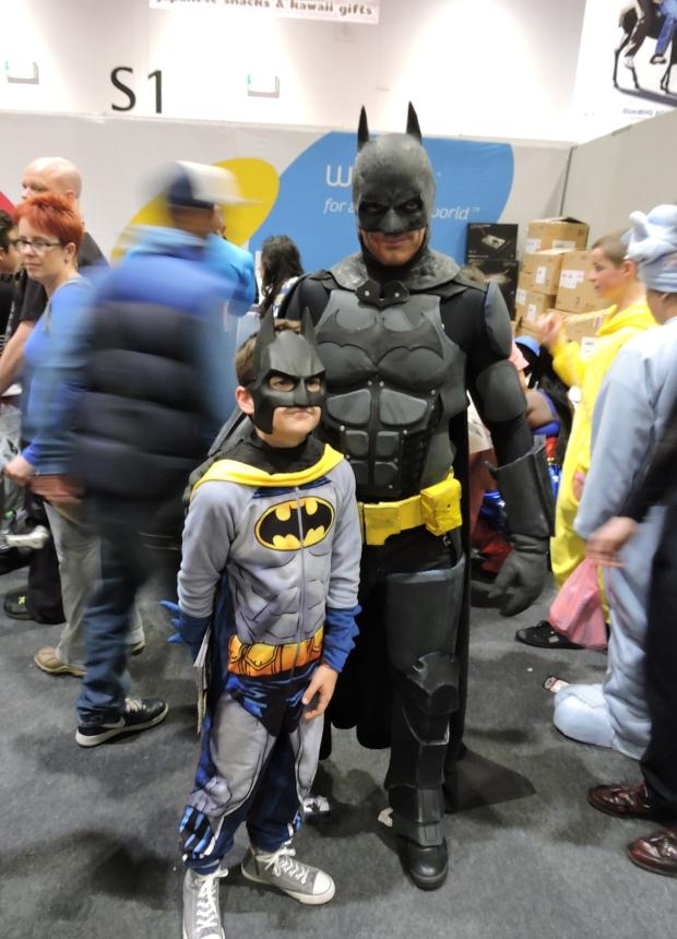 London Comic Con October 2014 Day 2 105 Batman and Batson