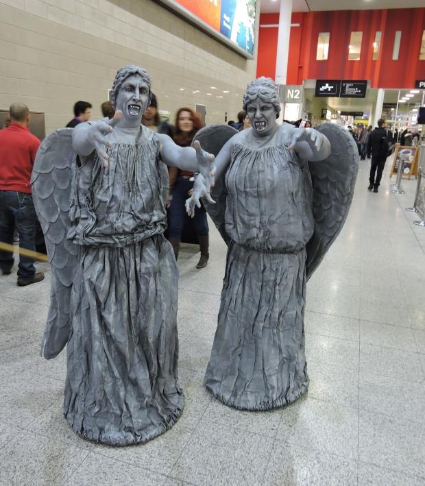 London Comic Con October 2014 Day 2 120 Doctor Who Gargoyles Cosplay