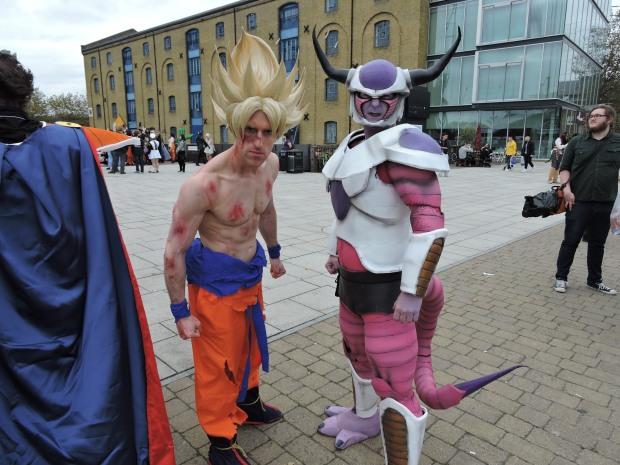 London Comic Con October 2014 Day 3 171 Dragon Ball Z