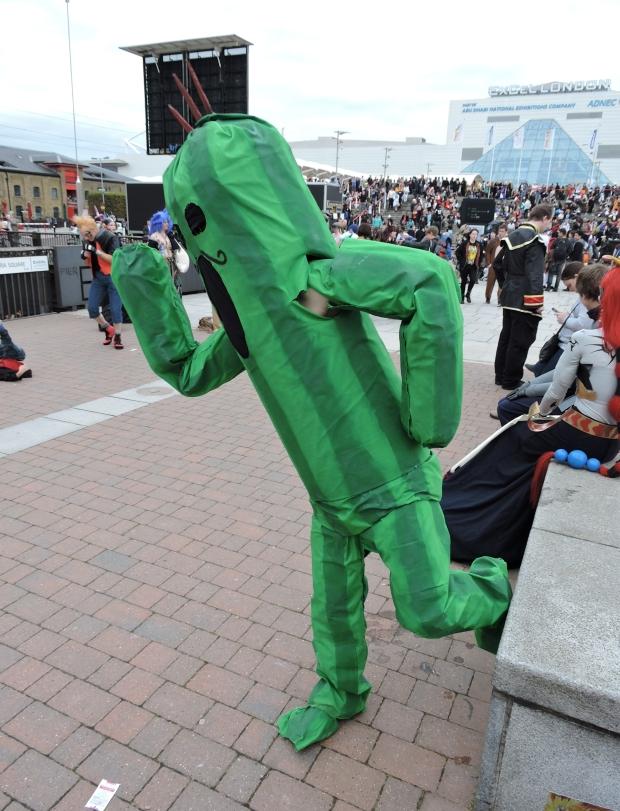 London Comic Con October 2014 Day 3 175 Final Fantasy Cactus